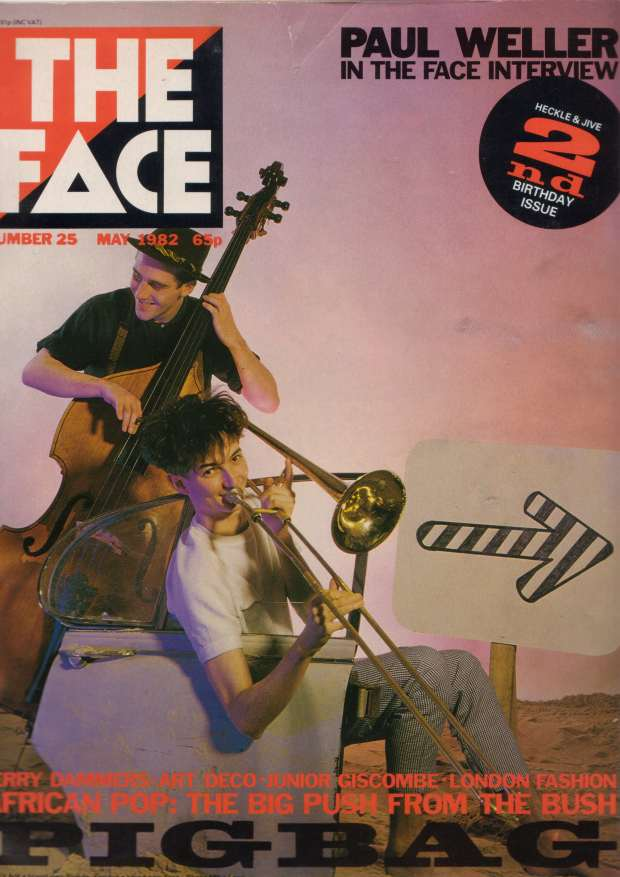 Simon and James on the front cover of The Face - May 1982